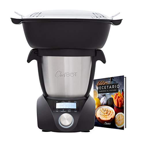 IKOHS CHEFBOT Compact STEAMPRO - Robot de Cocina Multifunción, Cocina al Vapor, 23...