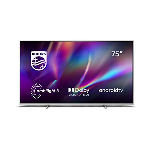 Philips Ambilight 75PUS8505/12 - Televisor Smart TV de 75', Android TV Control por...