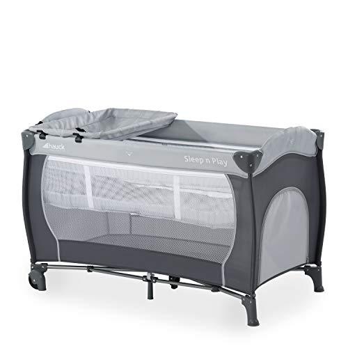 Hauck Cuna de Viaje Sleep N Play Center, de Nacimiento hasta 15 kg, 120 x 60 cm,...
