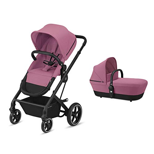 Cybex Gold Balios S 2-En-1, silla y capazo convertible Magnolia Pink