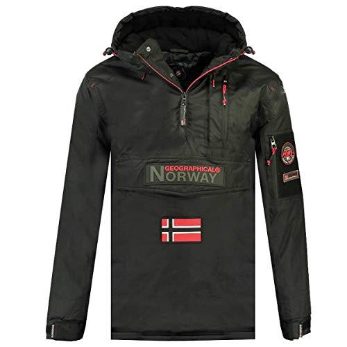 Geographical Norway Parka BARKER de hombre GRIS OSCURO talla XL