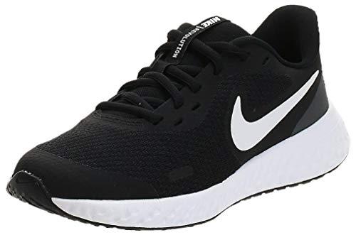 Nike Revolution 5, Walking Shoe, Negro, 36 EU