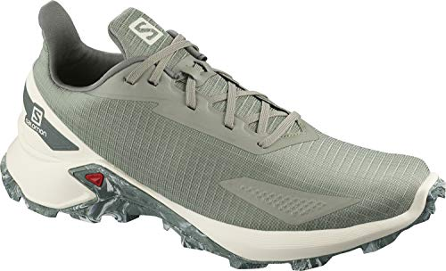 Salomon ALPHACROSS Blast, Zapatillas de Trail Running para Hombre, Color: Gris...