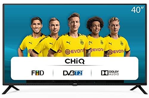 CHiQ Televisor 40 Pulgadas Full HD (NO Smart TV), 3 x HDMI, 2 x USB, Sintonizador...