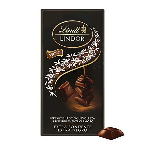 Lindt Lindor Singles – Tableta de chocolate negro 60% cacao cremoso (18 porciones...