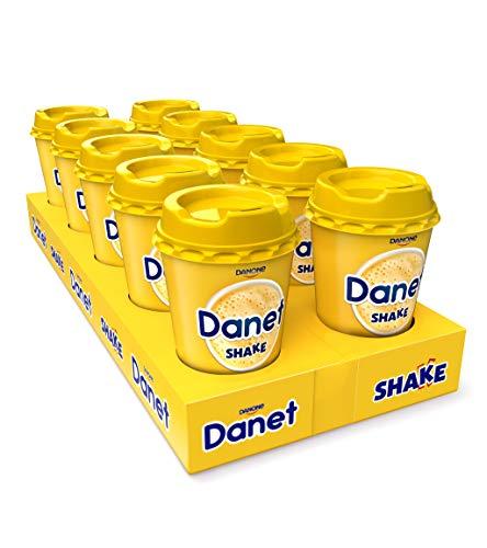 Danet Shake Pack 10 Batidos Sabor Vainilla 200 Ml - Total 10 x 200 ML