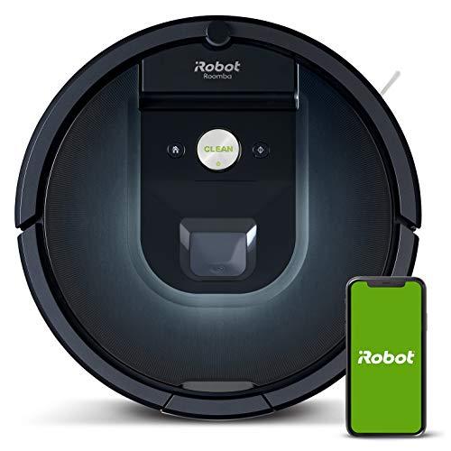 Robot aspirador iRobot Roomba 981 Alta potencia y Power Boost, Recarga y sigue...