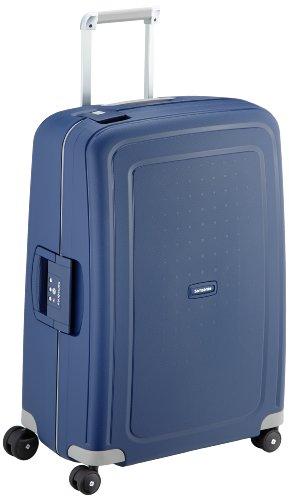 Samsonite S'Cure Spinner - Maleta de equipaje, M (69 cm - 79 L), Azul (Dark Blue)