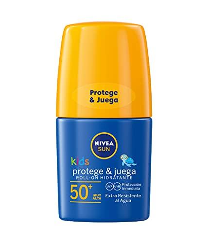 Nivea Sun Roll-On Solar Niños Protege & Juega FP50+, 50ml