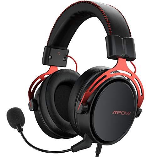 Mpow Air SE Auriculares para Juegos, Auriculares para Juegos con Sonido Envolvente...