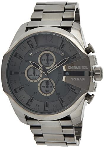 Diesel Reloj Cronógrafo para Hombre de Cuarzo con Correa en Acero Inoxidable DZ4282