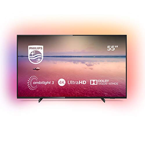 Philips 55PUS6704/12 - Smart TV LED 4K UHD, 55 pulgadas, Resolución de pantalla 3840...