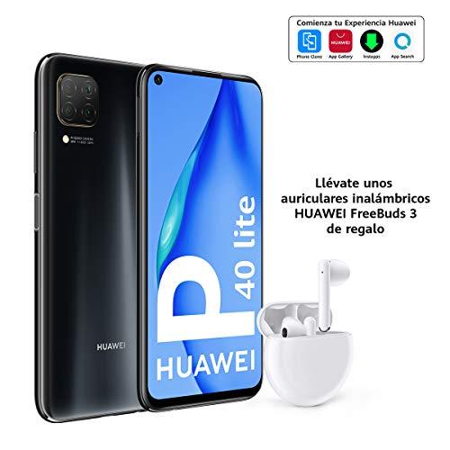 HUAWEI P40 lite - Smartphone con pantalla de 6.4' FullView (Kirin 810, 6GB de RAM,...