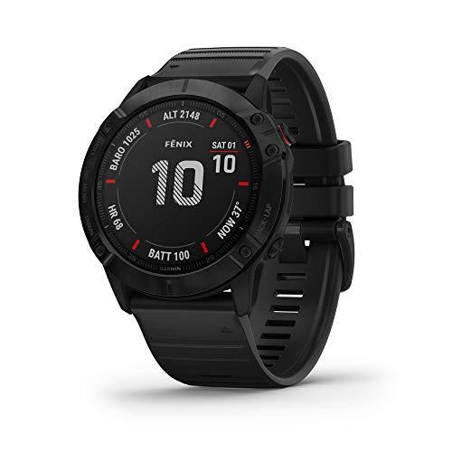 Garmin fēnix 6X PRO - Reloj GPS multideporte con mapas, música, frecuencia...
