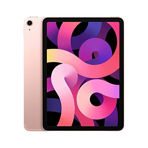 Apple iPadAir (de 10.9pulgadas, con Wi-Fi + Cellular y 64GB) - Oro rosa (Ultimo...