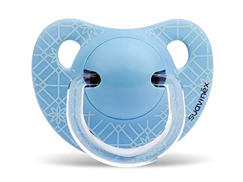 Suavinex - Chupete Tetina Anatómica Silicona. Chupete 0-6 Meses. 0% BPA, Diseño...