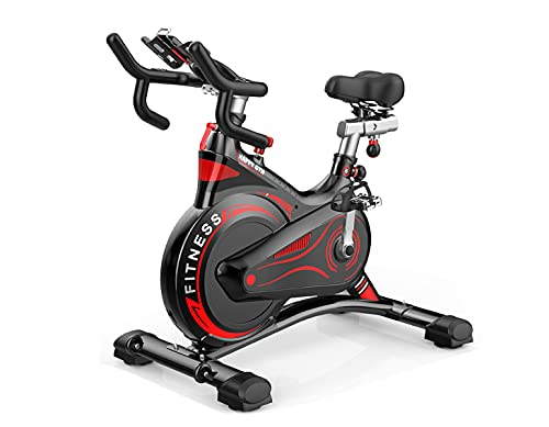 Bicicleta estática de resistencia magnética resistencia regulable, Bici de...