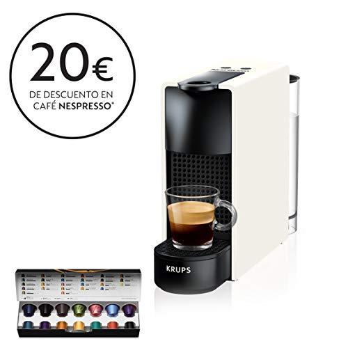 Nespresso Krups Essenza Mini XN1101 - Cafetera monodosis de cápsulas Nespresso,...