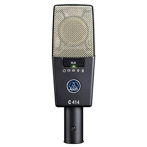 AKG C414 XLS - Micrófono (Studio, 20-20000 Hz, Cardioid, Alámbrico, XLR-3, 300g)...