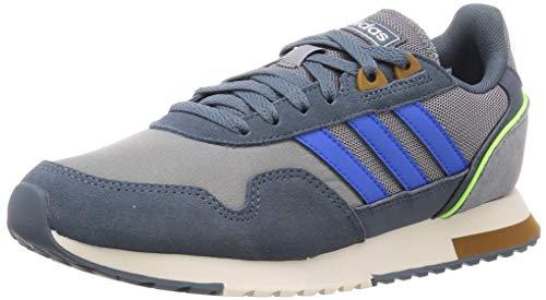 adidas 8K 2020, Zapatillas de Running Hombre, Grey/Glory Blue/Legacy Blue, 42 2/3 EU