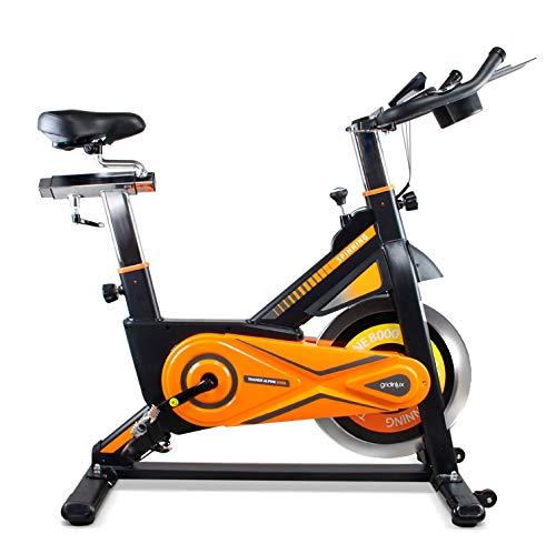 gridinlux. Trainer Alpine 8000. Bicicleta estática Spinning. Volante de Inercia 25...