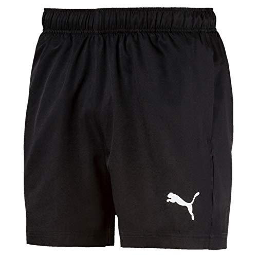 PUMA Active Woven Short 5` Pants, Hombre, Puma Black, M