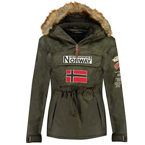 Geographical Norway Parka BOOMERANG hombre CAQUI talla M