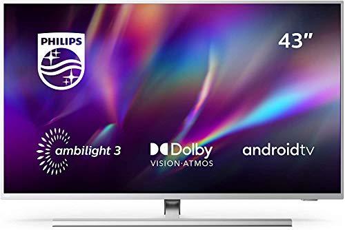 Philips Ambilight 43PUS8505/12 - Televisor Smart TV de 43 Pulgadas (4K UHD, P5...