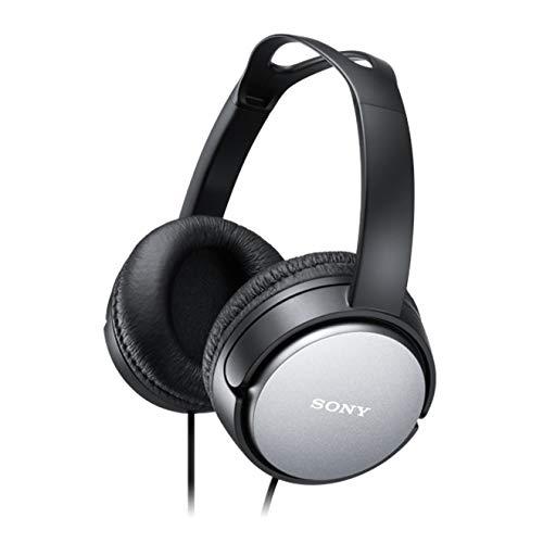 Sony - Auriculares de diadema cerrados, color negro