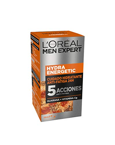 L'Oréal Paris Men Expert Hydra Energetic - Crema Hidratante Anti-Fatiga para hombre,...