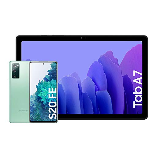Samsung Galaxy S20 FE 4G - 256 GB, Color Verde [Versión española] + Samsung Galaxy...