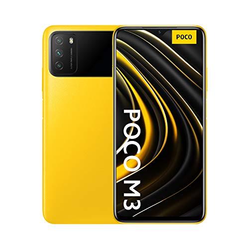 Poco M3 - Smartphone 4+64GB, Pantalla 6,53' FHD+ con Dot Drop, Snapdragon 662,...