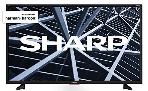 Sharp 32BB5E - TV de 32' (resolución 1368 x 720, 3 x HDMI, 2 x USB), color negro