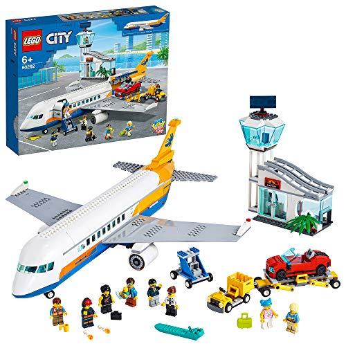 City Airport Avión de Pasajeros,Terminaly CamiónSetde Juego para...