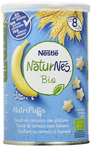Nestlé Naturnes Bio Nutri Puffs Snack De Cereales Con Plátano, A Partir De 8...