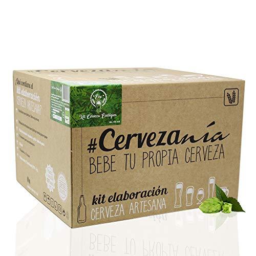 #Cervezanía - Kit de elaboración de cerveza artesana Pilsen Ale | Con certificado...