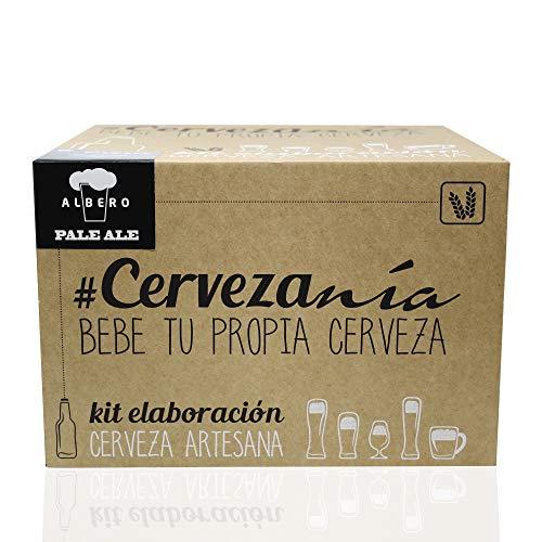 #Cervezanía - Kit de elaboración de cerveza rubia Pale Ale | 5 litros cerveza en...