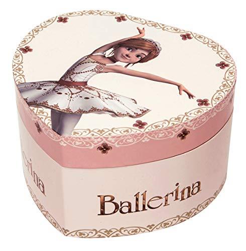 Trousselier–Bailarina–gran corazón musical
