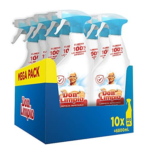 Don Limpio Limpieza Impecable, Detergente en Spray, Elimina Hasta el 100% de las...