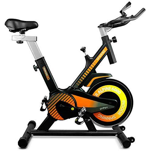gridinlux. Trainer Alpine 6000. Bicicleta Spinning Pro Indoor. Volante de Inercia 10...