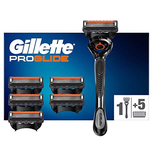 Gillette ProGlide Maquinilla de Afeitar Hombre con Tecnología Flexball + 6 Cuchillas...