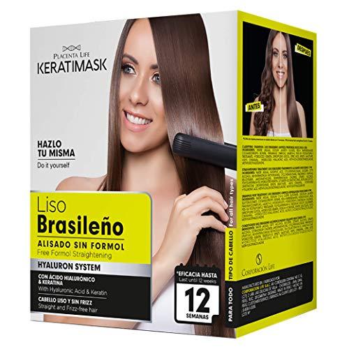 Be Natural - Kit Alisado Brasileño Keratimask - resultado profesional de larga...