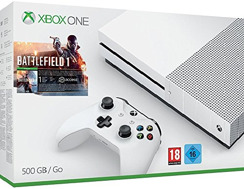 Xbox One - Pack Consola S 500 GB: Battlefield 1