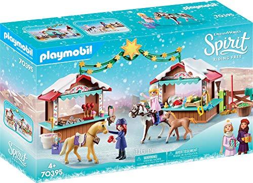 PLAYMOBIL DreamWorks Spirit 70395 Navidad en Miradero, A Partir de 4 Años