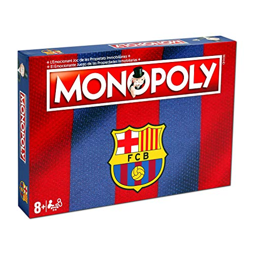 Winning Moves Monopoly Fc Barcelona (10537), multicolor (ELEVEN FORCE