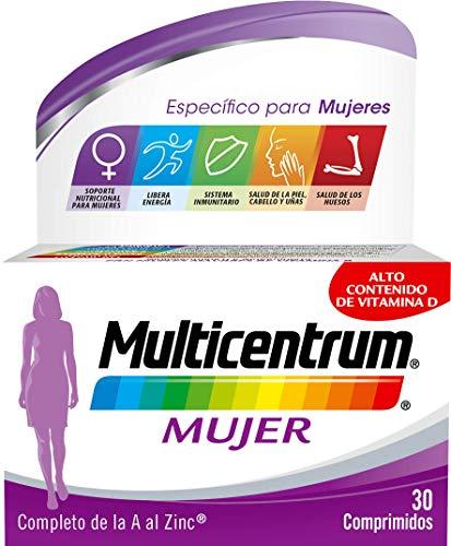 Multicentrum Mujer Complemento Alimenticio Multivitaminas con 13 Vitaminas y 11...