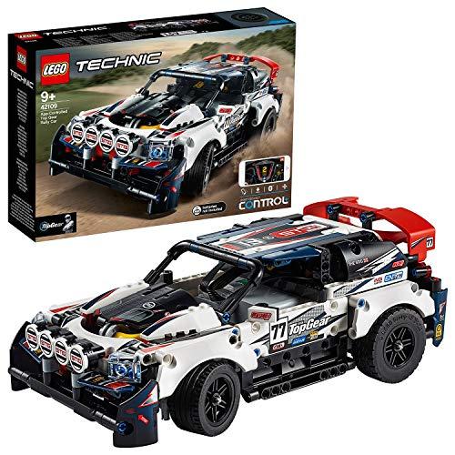 LEGO Technic - Coche de Rally Top Gear Controlado por App, Coche Teledirigido de...
