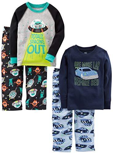 Simple Joys by Carter's Pijama para niños pequeños y niños pequeños, 4 piezas...
