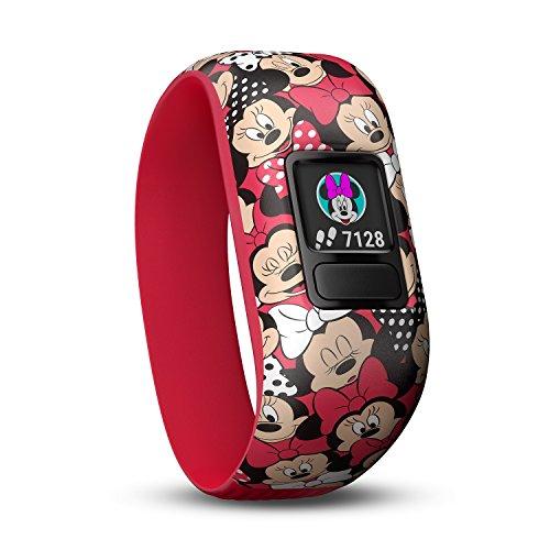Garmin Vívofit Jr. 2 - Monitor de actividad para niños, Minnie Mouse (Banda...