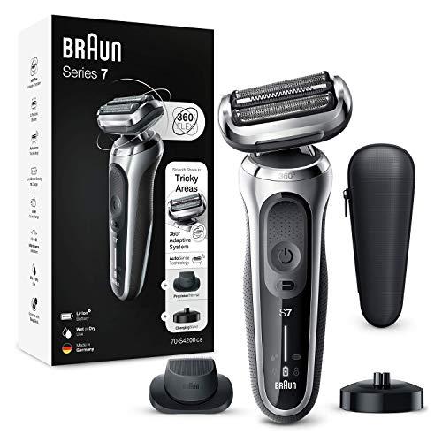 Braun - Series 7 70-S4200Cs Afeitadora Eléctrica Hombre De Lámina Con Base De...